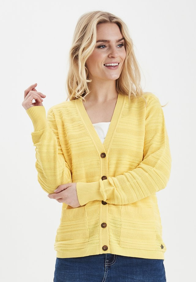 FRITLINE - Cardigan - yellow