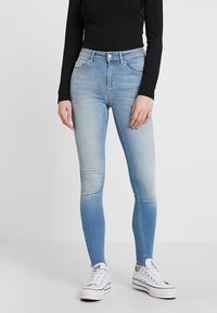 ONLY - ONLBLUSH - Jeansy Skinny Fit - light blue denim - 0