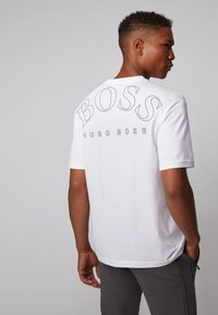 BOSS - TALBOA - Print T-shirt - white - 2