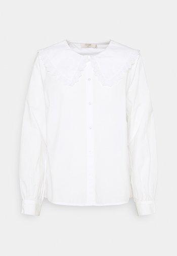 MUHANA - Button-down blouse - snow white
