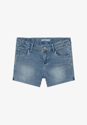 NKFSALLI - Shorts vaqueros - medium blue denim