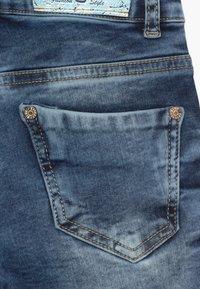 Blue Effect - GIRLS HEAVY - Denim shorts - blue denim - 3