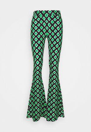 TERRA FLARED  - Pantaloni - multi
