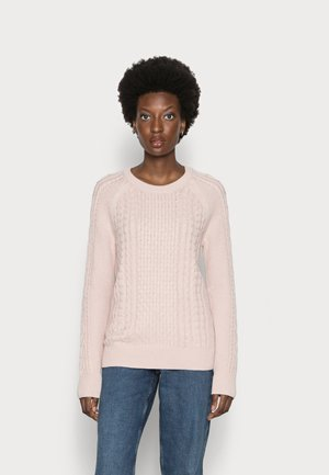 CABLE CREW - Neule - dull rose