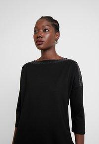 Opus - WILLIS GLITTER - Jersey dress - black - 4