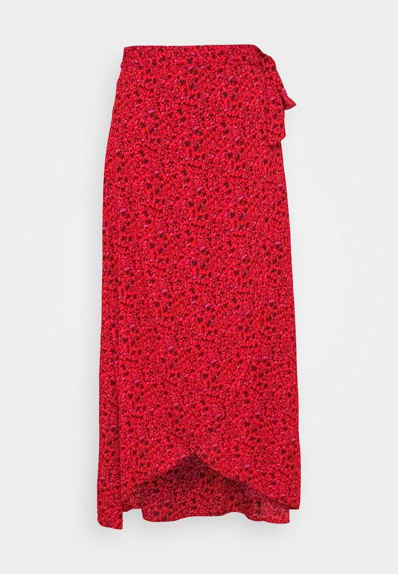 YAS - A-line skirt - lollipop/dahlia