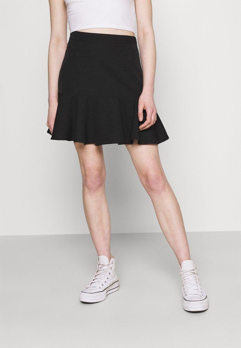 Trendyol - Mini skirt - black