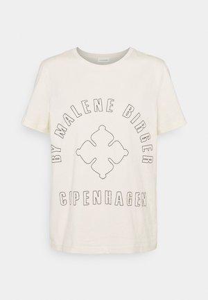 DESMOS - Print T-shirt - cream
