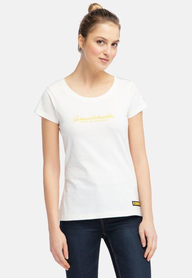 Printtipaita - off-white