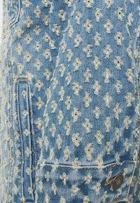 Jaded London - PULLED JACKET - Džínová bunda - light blue - 3
