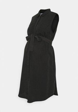 MLMADDIE LIA WOVEN DRESS - Shirt dress - black