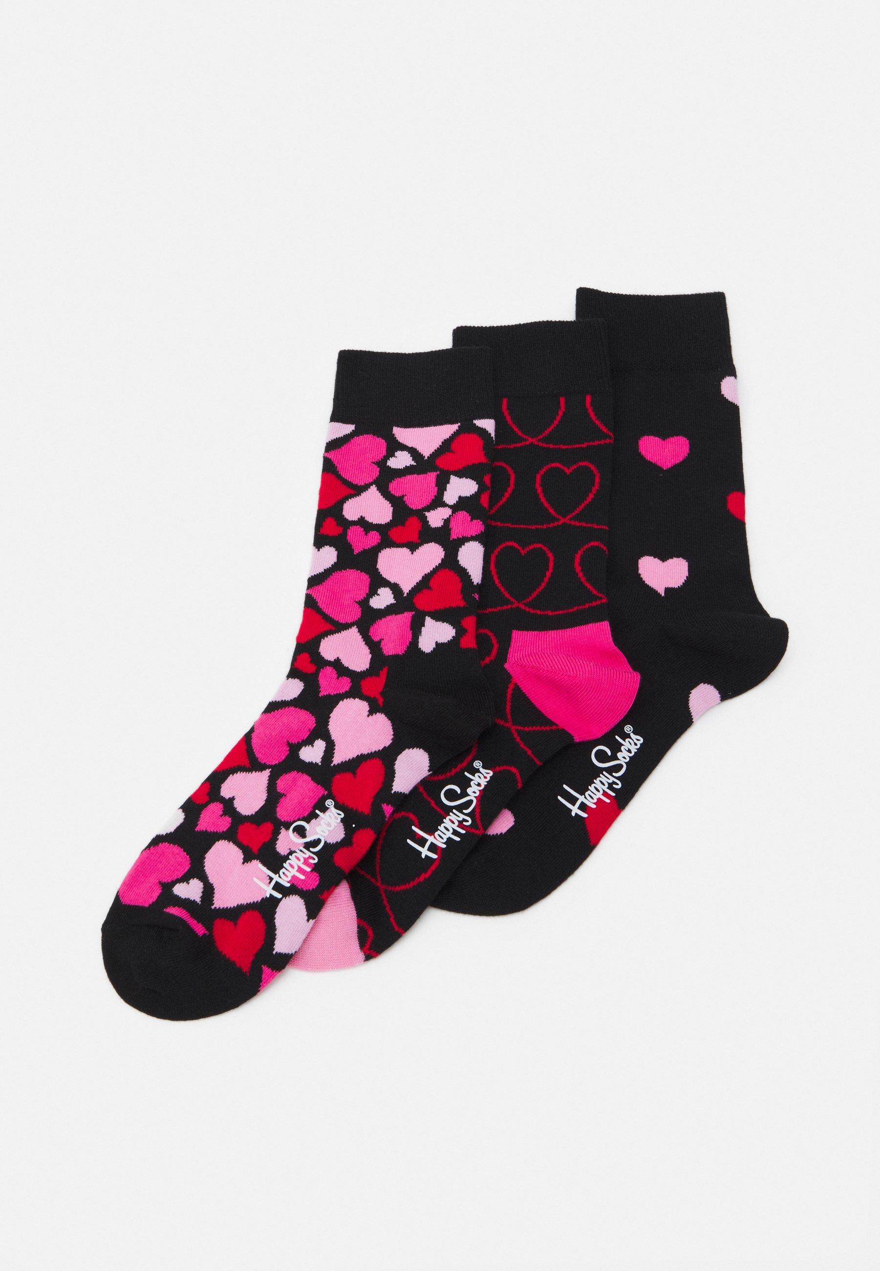 Women HEARTS 3 PACK - Socks