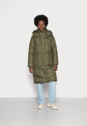 ARCTIC PUFFER COAT - Winter coat - deep olive green