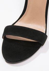 Steve Madden - CARRSON - High heeled sandals - black - 6
