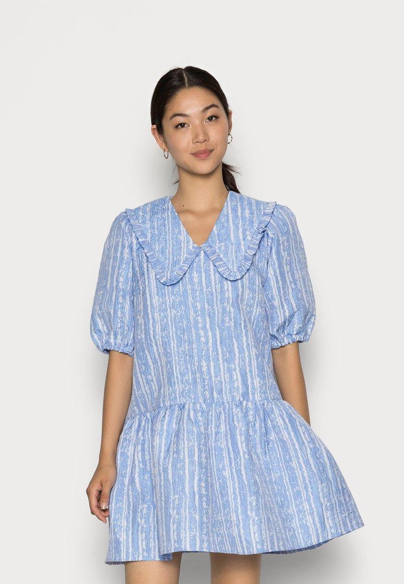 Cras - ARIACRAS DRESS - Day dress - brunnera blue