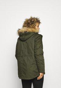 Zizzi - JACKET - Winter jacket - forest night - 2