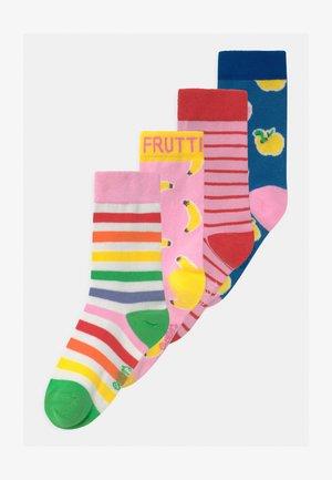 STRIPES FRUITS 4 PACK - Socks - multicolour