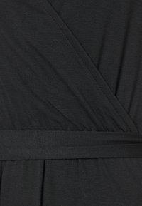 GAP - WRAP DRESS - Vestido ligero - true black - 2