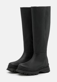 Selected Femme - SLFLUCY HIGH SHAFTED BOOT  - Plateaulaarzen - black/matte - 2