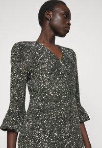 MICHAEL Michael Kors - RUFFLE MINI  - Cocktail dress / Party dress - silver-coloured - 5