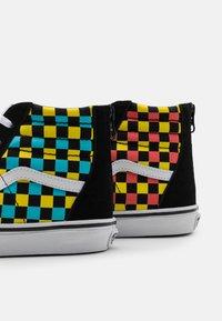Vans - SK8 ZIP UNISEX - High-top trainers - black/multicolor - 5