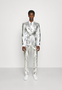OppoSuits - SHINY SET - Suit - silver - 7