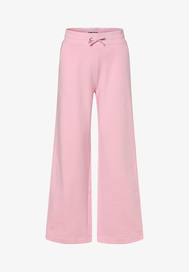 Tommy Jeans - WIDE LEG - Tracksuit bottoms - rosa