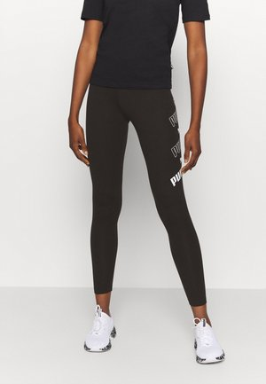AMPLIFIED LEGGINGS - Punčochy - black