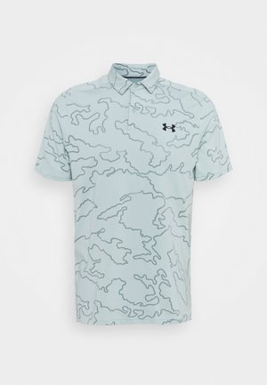 VANISH CAMO - Sports shirt - enamel blue