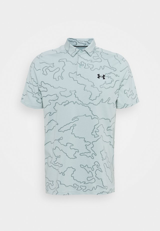 VANISH CAMO - T-shirt sportiva - enamel blue