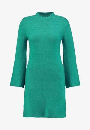 DRESS - Jumper dress - bright green
