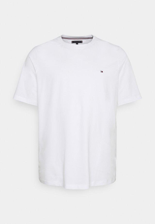SLIM FIT TEE - Camiseta básica - white