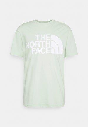 STANDARD TEE - T-shirt med print - green mist