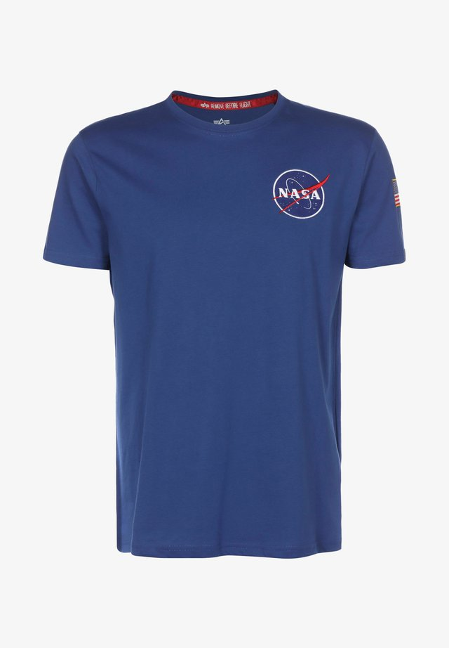Print T-shirt - nasa blue