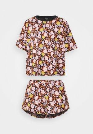 SET - Pyjamas - black dark