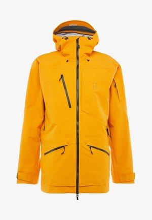 NENGAL 3L PROOF PARKA MEN - Ski jacket - desert yellow/true black