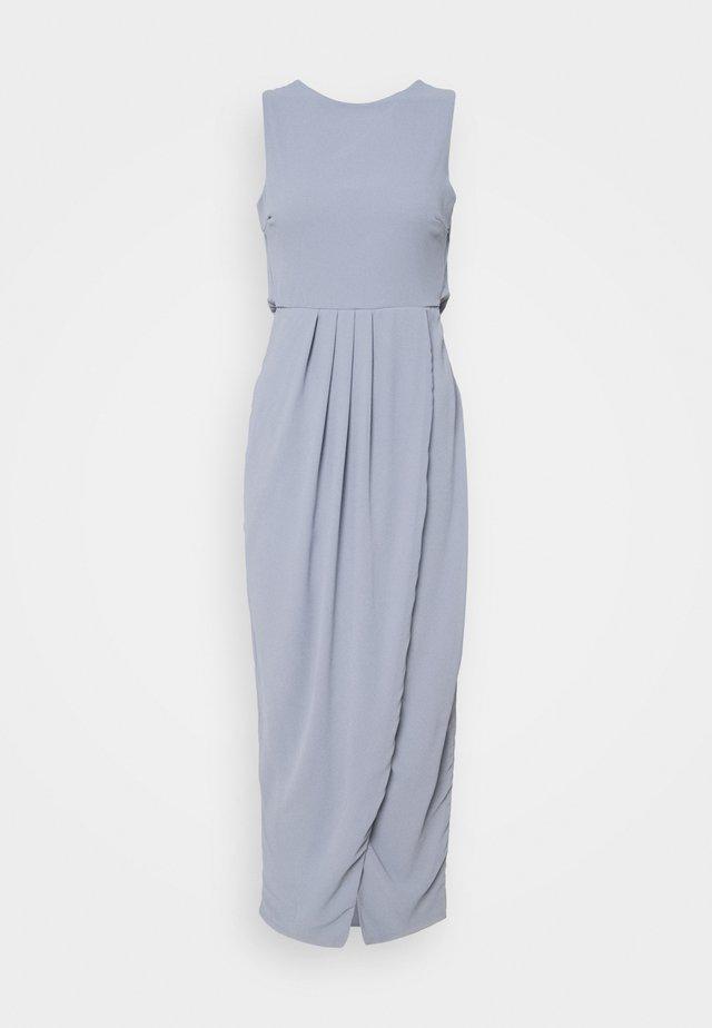 ELSIE MAX - Robe de cocktail - grey/blue