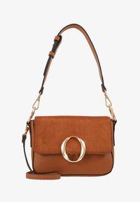 LEGELITH - Handbag - tan/gold-coloured