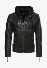 Freaky Nation - Veste en cuir - dark olive - 4