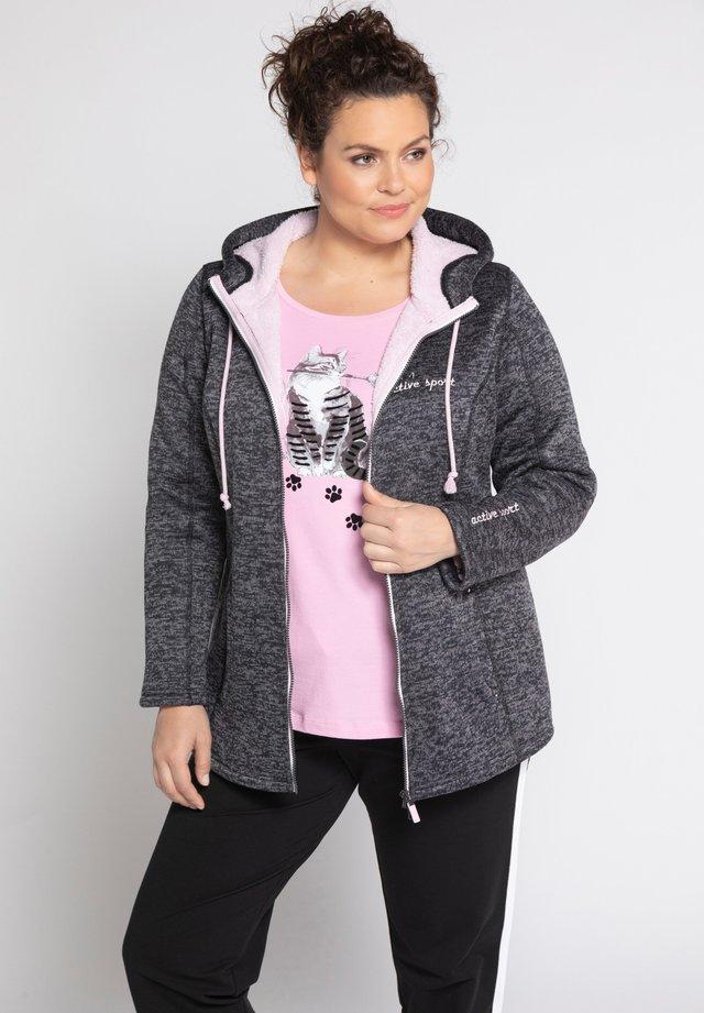 Light jacket - gris foncé chiné