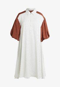 LENNON DRESS - Day dress - white/black