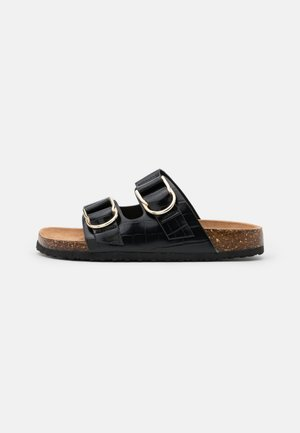 FIREWIA - Pantofle - black