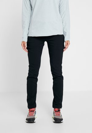 WINDGATES FALL PANT - Friluftsbukser - black