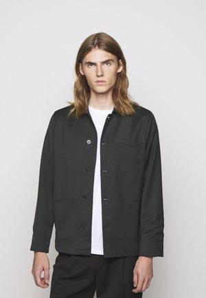 LOUIS GARBADINE JACKET - Summer jacket - dark spruc
