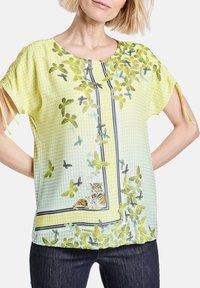 Gerry Weber - Print T-shirt - off white ligh lime aloe druck - 1