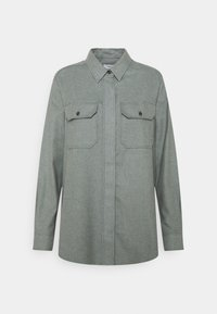 CLOSED - LIVA - Button-down blouse - pale teal - 0
