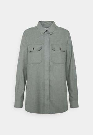 LIVA - Button-down blouse - pale teal
