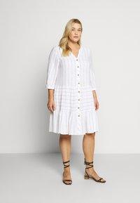 Zizzi - MCATA - Day dress - white - 0
