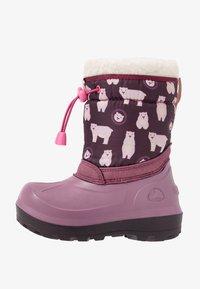 Viking - SNOWFALL BEAR - Winter boots - violet/pink - 1