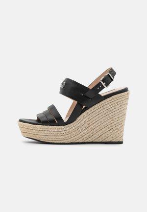 78 BAY STREET - High heeled sandals - black